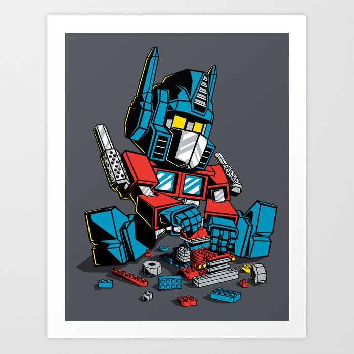AUTOBLOCKS Art Print
