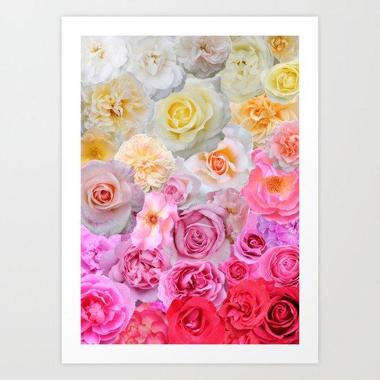 Spring Roses Art Print