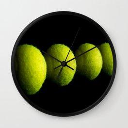 Tennis Balls Wall Clock
