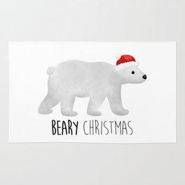 Beary Christmas | Polar Bear Rug