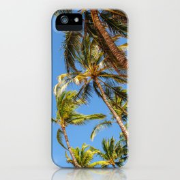 Hawaii Palm Trees iPhone Case