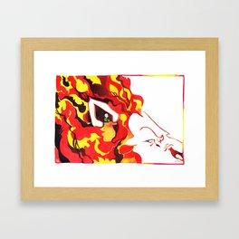Not Shelter, it's the Lion's Ear!! Framed Art Print