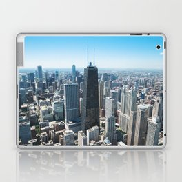 hancock tower in Chicago Laptop & iPad Skin