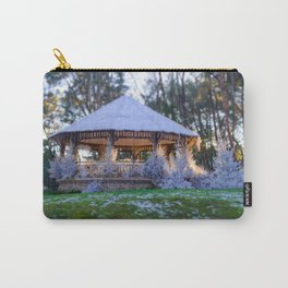 Kiosk in winter Carry-All Pouch