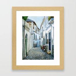 Albaicín, Granada, Spain Framed Art Print