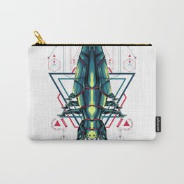 Space Ship sacred geometry Carry-All Pouch