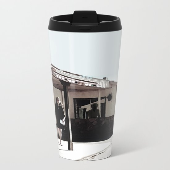 Within The Darkest Parts Of The Day Metal Travel Mug