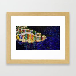 Night in Tuscany Framed Art Print
