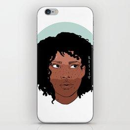 Marielle resist iPhone Skin
