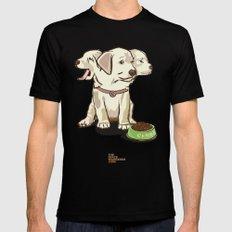 Cerberus Puppy MEDIUM Mens Fitted Tee Black