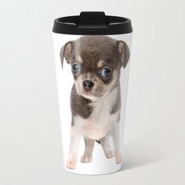 Chihuahua puppy standing Travel Mug