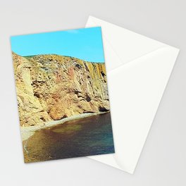 The Rock in the Sea Stationery Cards