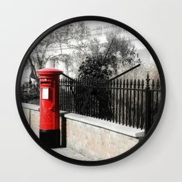 Waiting for the Postman Wall Clock