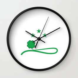 """T-shirt Design Get this cool St.Patrick's Day Souvenir Featuring The Text """"Let's Get Sham Rocked"""" Wall Clock"""
