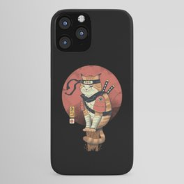 Shinobi Cat iPhone Case