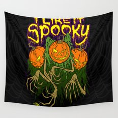 I Like It Spooky Wall Tapestry