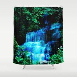 Enchanted waterfall. Shower Curtain