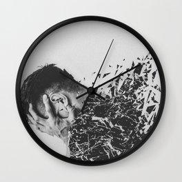 Defragmentation Wall Clock