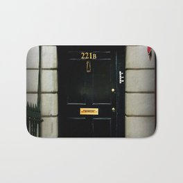 221B Baker Street BBC Sherlock Bath Mat