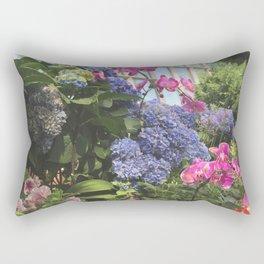 Hyacinth Bush at Flower Dome Gardens by the Bay Marina Bay Singapore Photography Art Print Rectangular Pillow