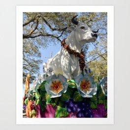 Carnival Boeuf Gras Art Print