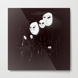 A summon in the night Metal Print
