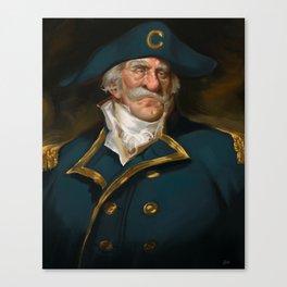 Oh Captain, My Captain (Captain Crunch) Canvas Print
