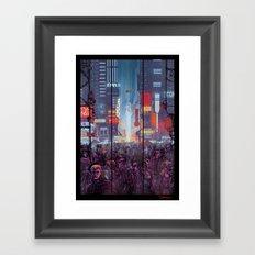 Blade Runner Harrison Ford Framed Art Print