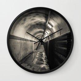 Down below -  Crumlin Road Gaol Wall Clock
