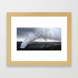 Pele (Volcano Kilauea) Framed Art Print