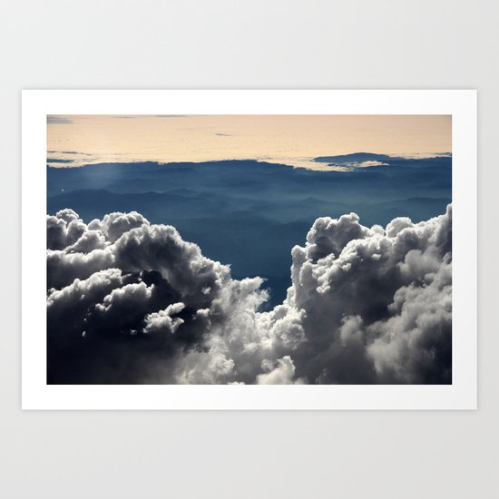 view, that took my breath away Art Print