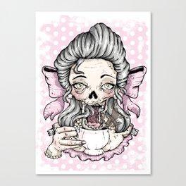 Zombie Tea Canvas Print