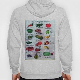 Frutas & Verduras Hoody