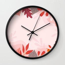Autumn Harvest  Wall Clock