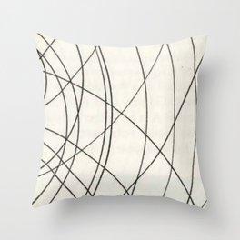 Irregular Waves Throw Pillow