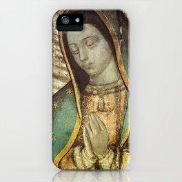 Virgen De Guadalupe Mexico iPhone Case