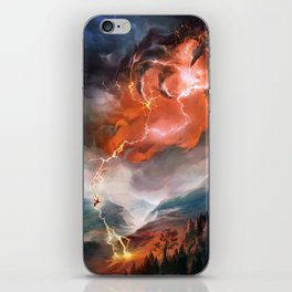 Lightning Bolt iPhone Skin