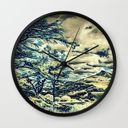 Oriental Touch Wall Clock