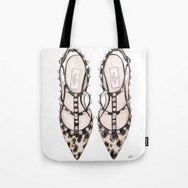 LEOPARD HEELS Tote Bag