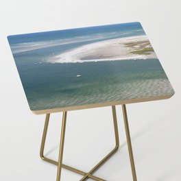 Rich's Inlet at the North End of Figure 8 Island 2 | Wilmington NC Side Table