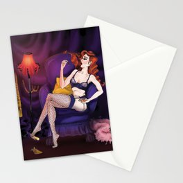 Burlesque Cherry Stationery Cards