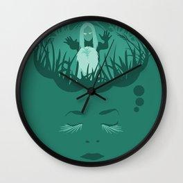 iamamiwhoami; clump Wall Clock