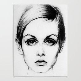60's Eyelashes Poster