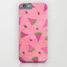 Watermelons and Lady Bugs iPhone 6s Slim Case