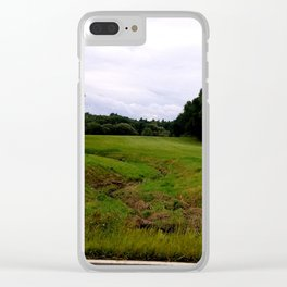 Mill Valley Road Clear iPhone Case