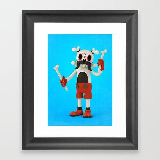 Mr.Bones Framed Art Print