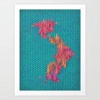 japan Art Prints featuring Japan by JR Schmidt
