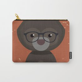 Hipster Bear Carry-All Pouch