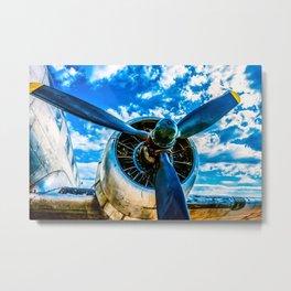Aviation forever Metal Print