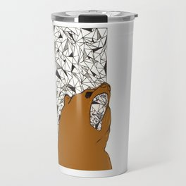 Bearly here Travel Mug